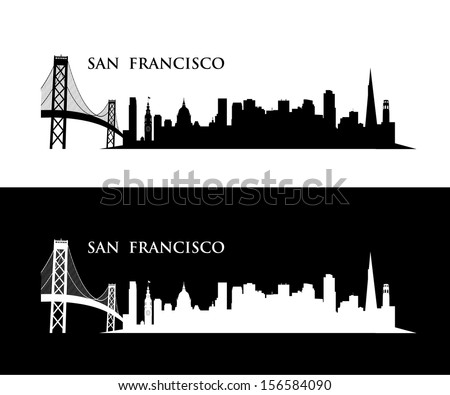 san francisco wall sticker