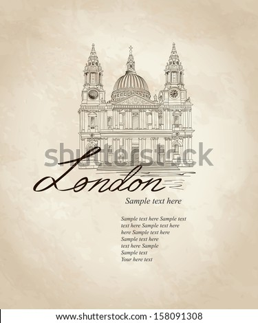 st paul cathedral  london  uk