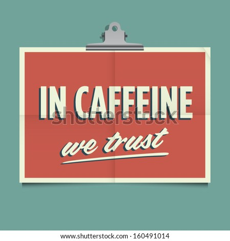 in caffeine we trust  folded