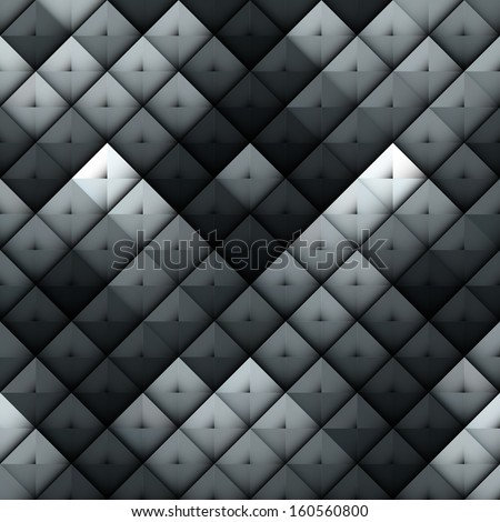 dark grey squares hard metal