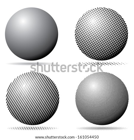 vector spheres set