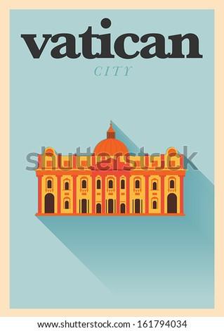 vector minimal design vatican