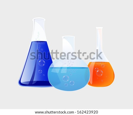 vector flasks