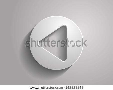 3d vector illustration of back