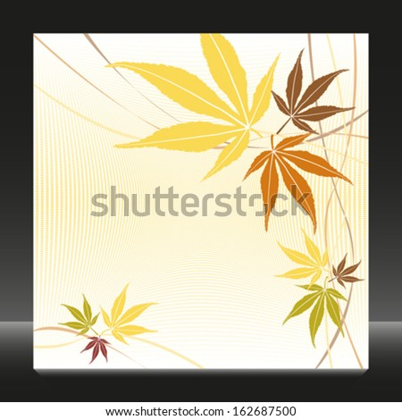 autumn or fall maple leaves