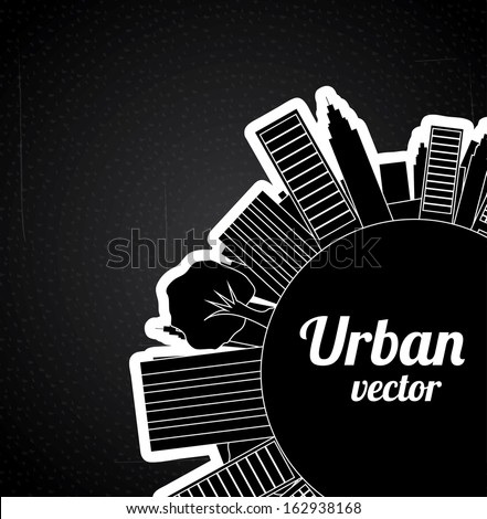 urban  design over black