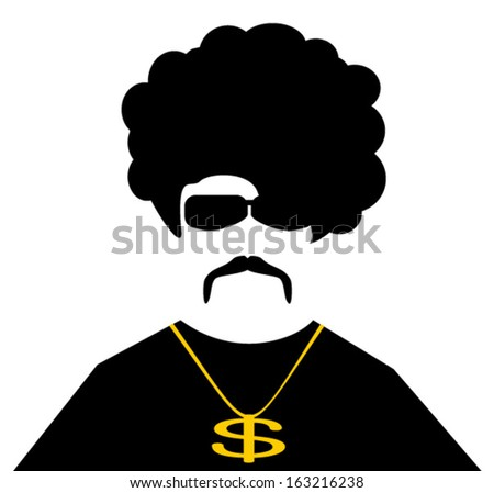 cool guy with gold chain