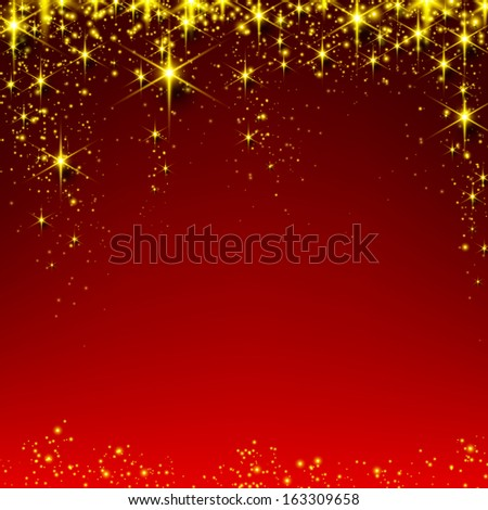 red christmas abstract