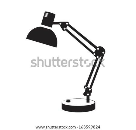Desk lamp light free vector download 7725 Free vector for – Desk Lamp Logo