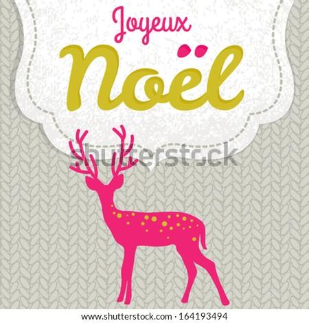 joyeux noel   vector christmas