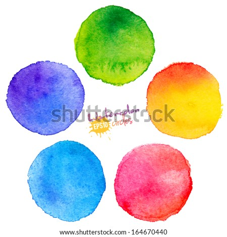 colorful vector isolated