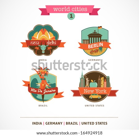 world cities labels   delhi