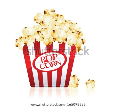pop corn snack icon