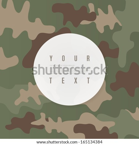 abstract white circle text