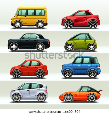 car icon set 3