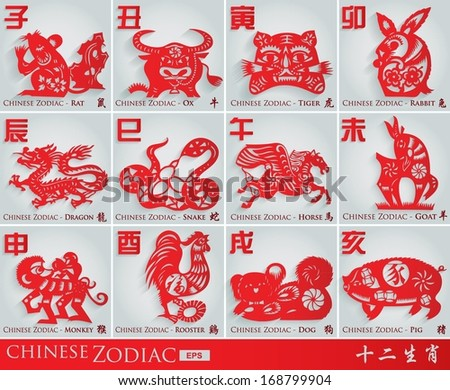 3d traditional chinese twelve
