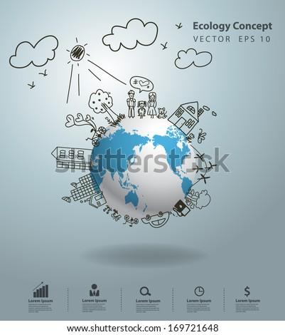 ecology concept  creative