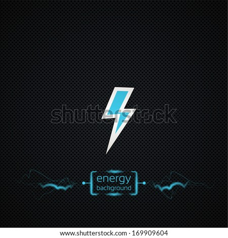 energy techno vector background