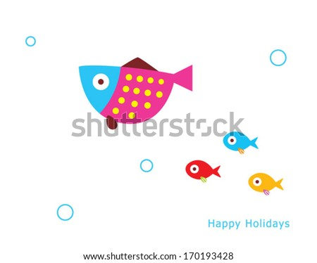 happy fish holidays