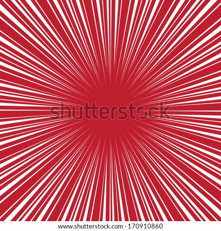 radial speed on red  bubble