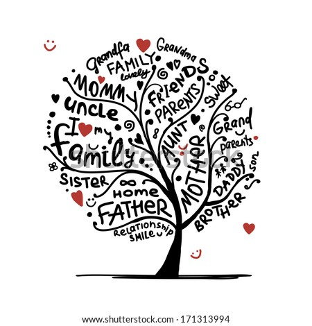 family tree sketch for your