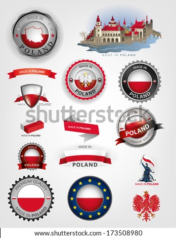 poland seals  made in poland