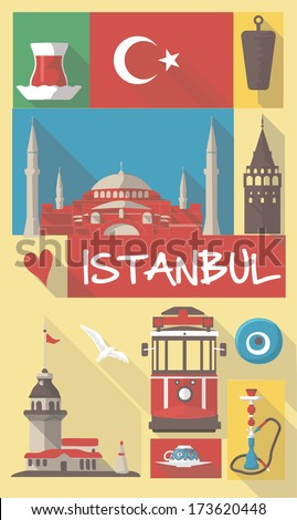 turkish cultural icons on