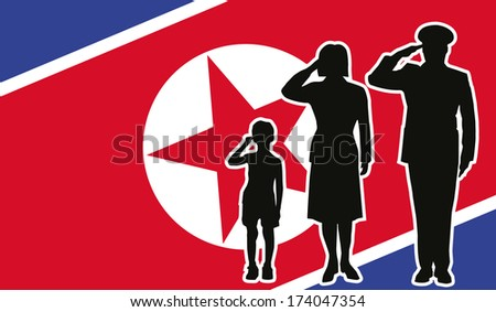 north korea soldier family