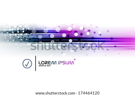 abstract vector blurred