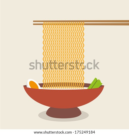 illustration of chopsticks