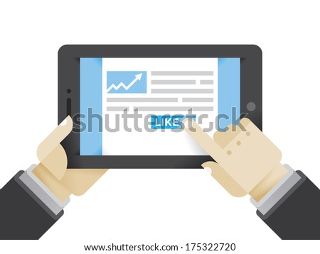 businessman reading business