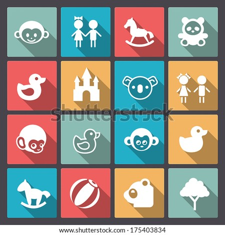 vector set of sixteen zoo and
