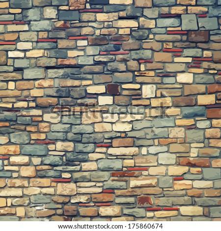 vintage stones texture raster