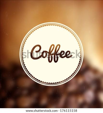 vintage coffee design