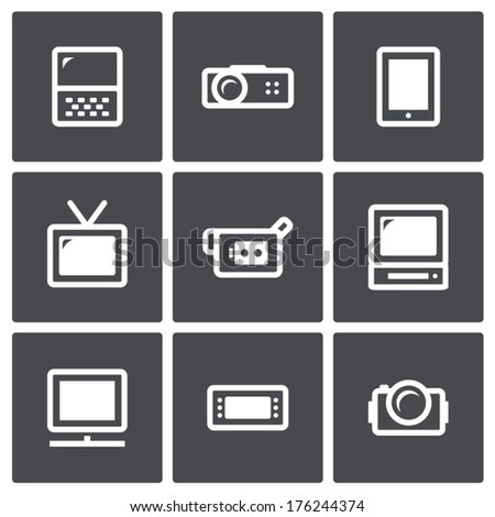 vector visualization tools icon
