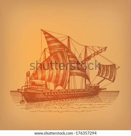 ship vector format