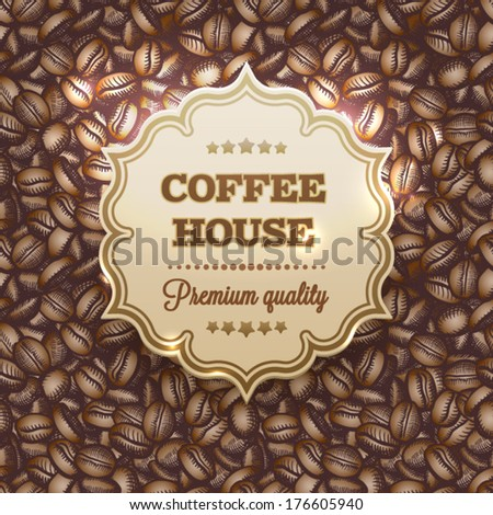coffee house coffee beans