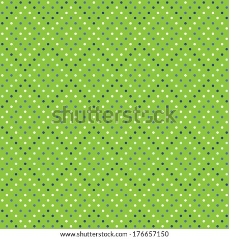 seamless pattern of polka dots