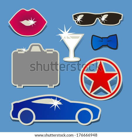 Sealed With A Kiss clip art Free Vector / 4Vector