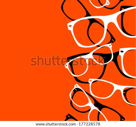 pattern retro hipster
