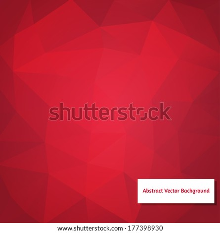 abstract vector polygonal