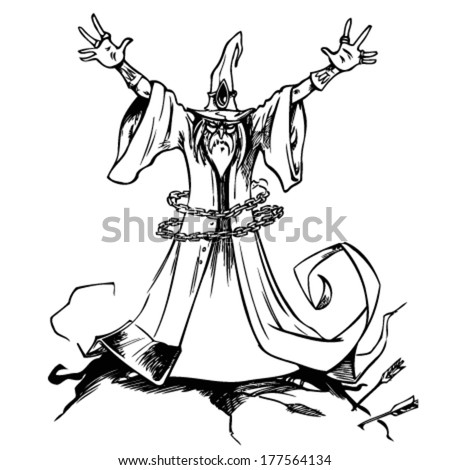 Sorcerer vector free download free vector download (6 Free vector ...