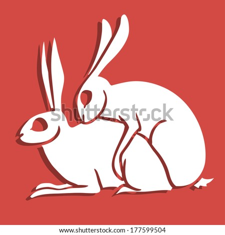 rabbits in breeding season  you