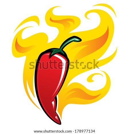 extremely super hot red chilli
