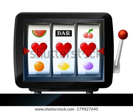 three heart items on play