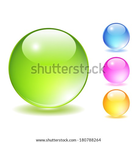 glass balls set