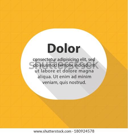 vector minimalistic flat