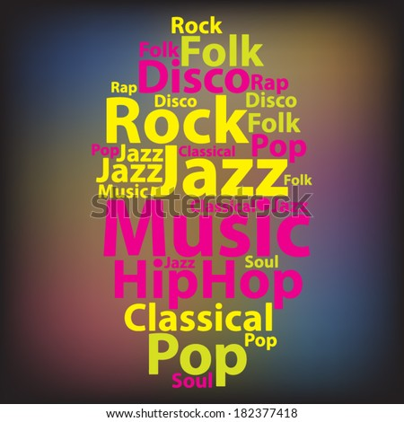 text cloud music wordcloud