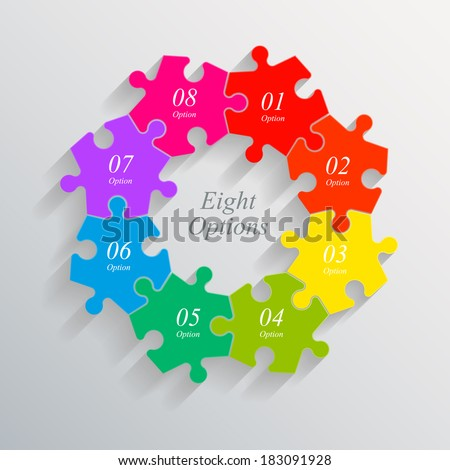 eight sided 3d puzzle