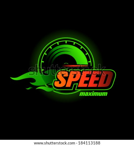 vector speedometer max speed
